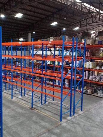 Rafturi metalice profesionale paleți depozitare 267x7644