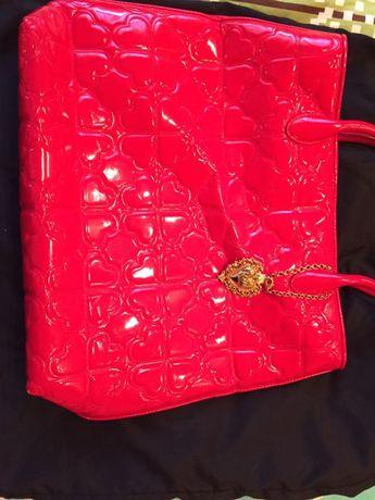 geanta rosie moschino originala cu sac de praf