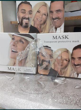 Mască transparentă nas si gură