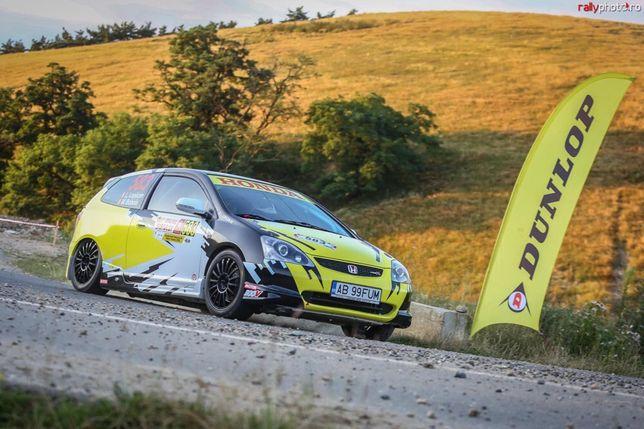 Honda Civic Ep3 Rally, coasta