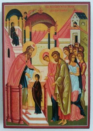 Икона Въведение Богородично ikona Vavedenie Bogorodichno