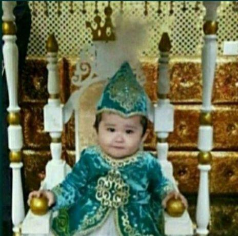 10000т Трон тақ тұсау кесу годик 1 жас сүндет той вывод ребенка троном