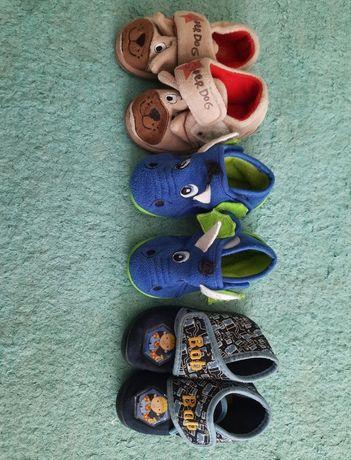 Lot papuci de casa 3 perechi 21/ 13 cm