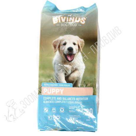 Divinus Puppy Dog Food 20кг - Пълноценна храна за подрастващи Кучета
