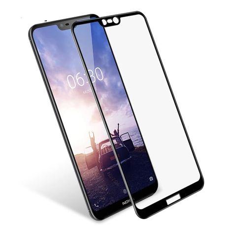3D Стъклен протектор за Nokia 2/3/5/6/7/8 glass protector screen цени