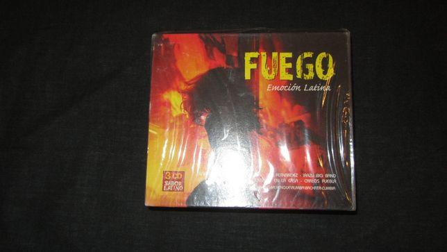Set 3 CD originale sigilate Fuego Emotion Latina
