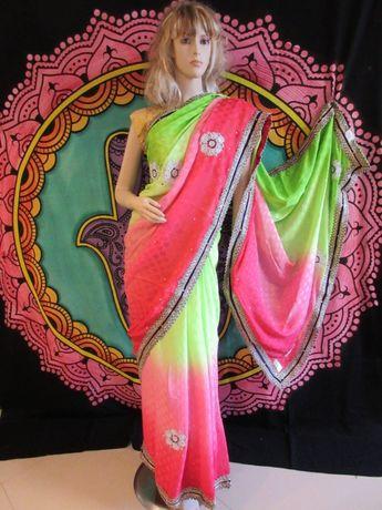 Индийски Сари и комплекти Ленга-Чоли