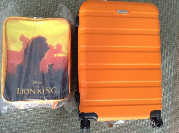 set trolere Kring Ethiopia -Lion King cu design de film 38 x 60 x 27