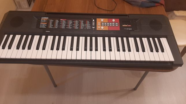 Синтезатор: цифровой клавишный инструмент YAMAHA PSR-F51