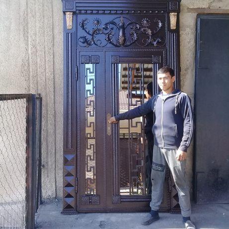 Качественный ворота дверей и д р покраска вороты