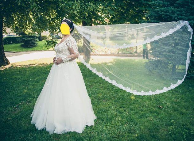 Rochie de mireasa White Lady IVORY model 2019 A-line
