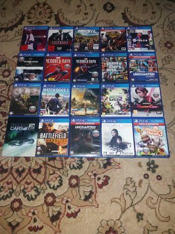 Игры PS4 - PS3 лицензионные, смотрите все фото дисков