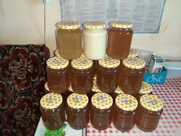Miere de albine 100% naturală producție 2021.