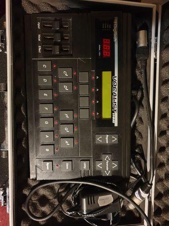 Vocal List(Terta voce)procesorul are foarte multe efecte!
