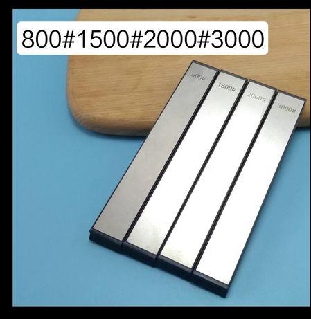 Плочки за заточване на ножове с подложка