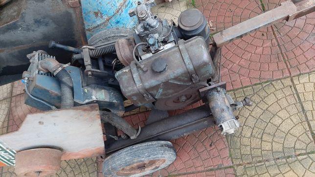 Compresor cu motor diesel
