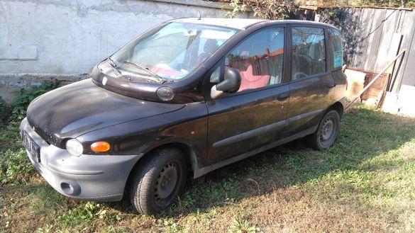 Фиат Мултипла на части -2001г., метан , 1,6 мотор , 6 седалки , ван.