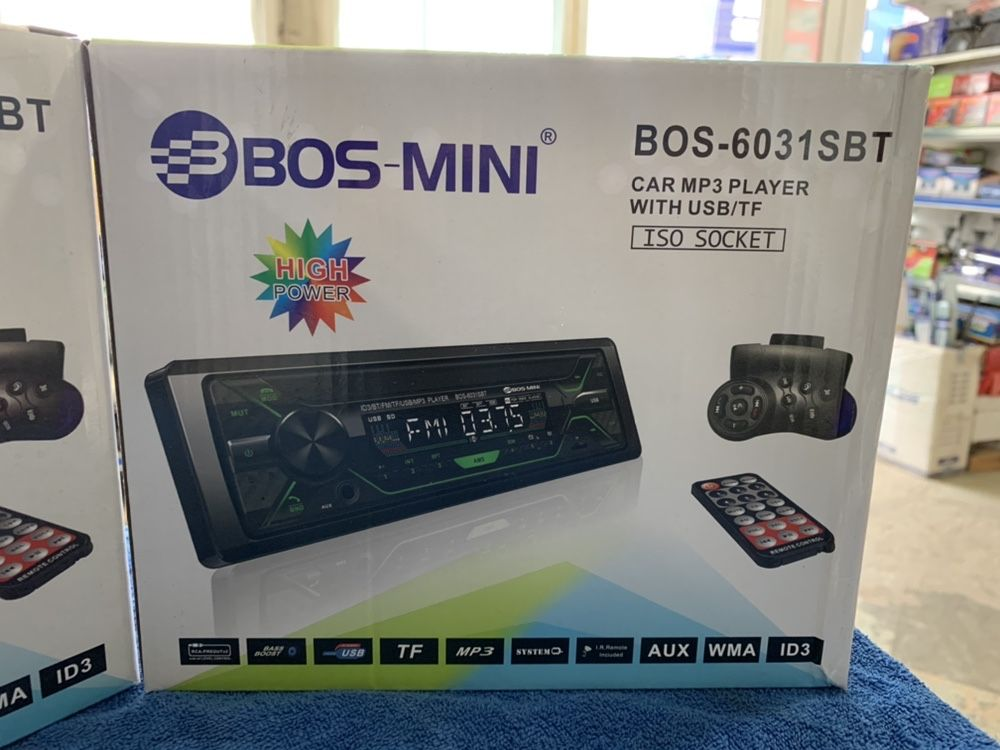 Автомагнитола +пульт на руль блютуз BT USB SD авто магнитола