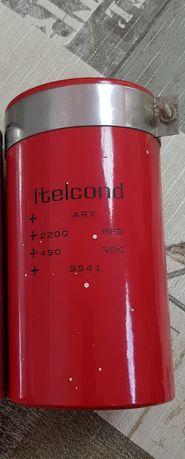 Кондензатор Itelcond ARX,2200mf, 450VDC