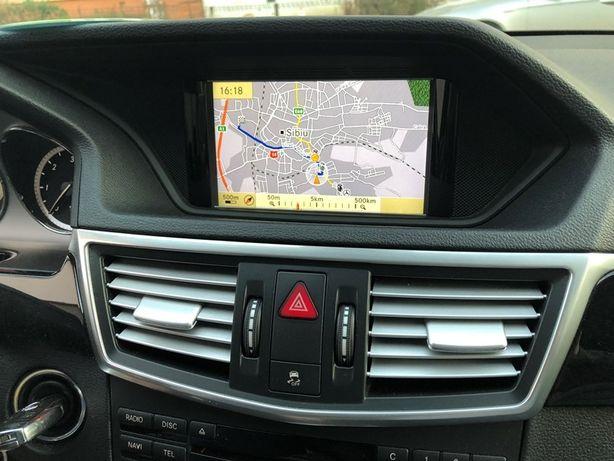 DVD harti navigatie Mercedes E-Class W212 CLS Europa Romania 2018