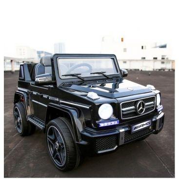 Акумулаторен джип Mercedes Benz G63,12V меки гуми J263