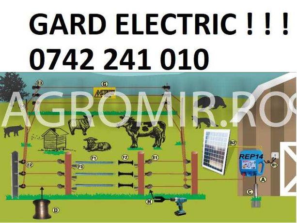 gard electirc pt animale rola fir sarma galvanizata kit generator