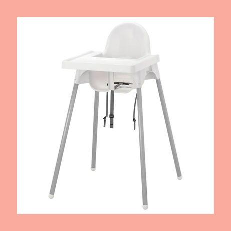 Детский стул для кормления. ИКЕА.