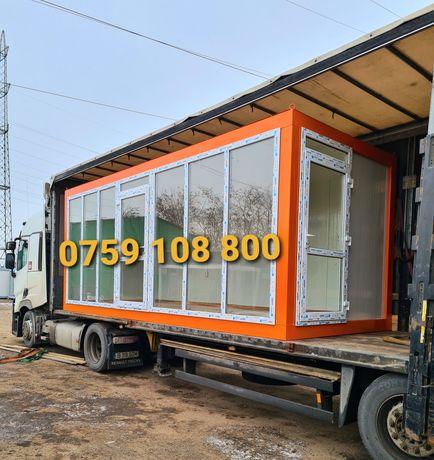 Containere cu vitrina magazin fast-food accept și variante auto