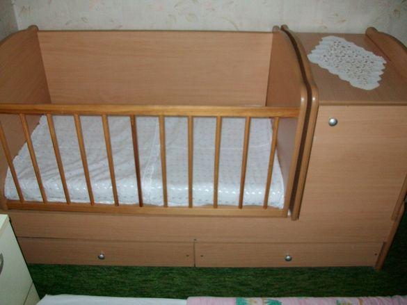 Детско трансформиращо легло 3 в1