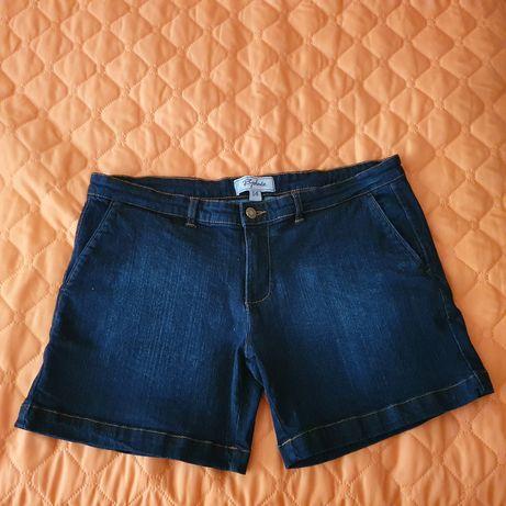 Дамски къси панталони дънкови L-XL