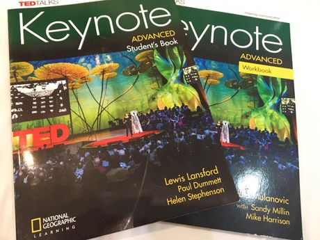 Keynote Advanced Student's Book & Workbook + Class Audio CDs