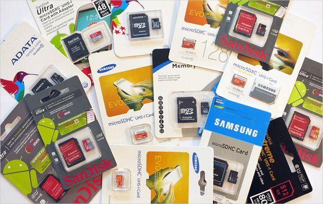 Флеши - USB Flash, SD card, miniSD, MicroSD