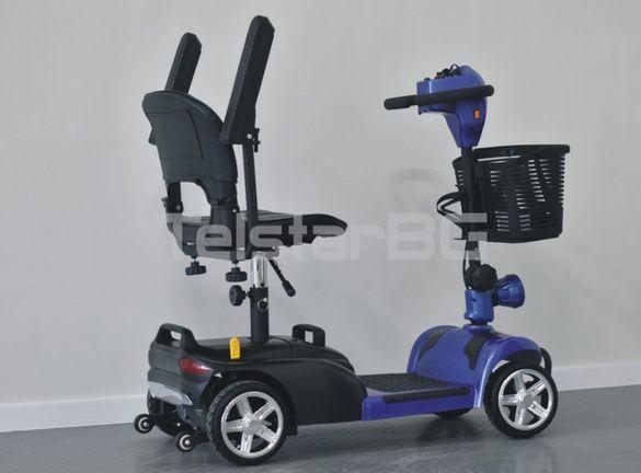 Електрическа инвалидна четириколка TS-180F V.2 350W 24V Нов модел