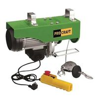 Palan electric Procraft TP-250 125x250 kg - Palan electric macara