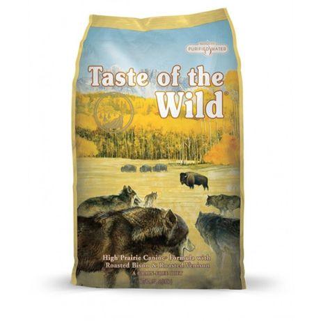 Mancare uscata caini Taste of the Wild High Prairie - Sac 12.2 Kg