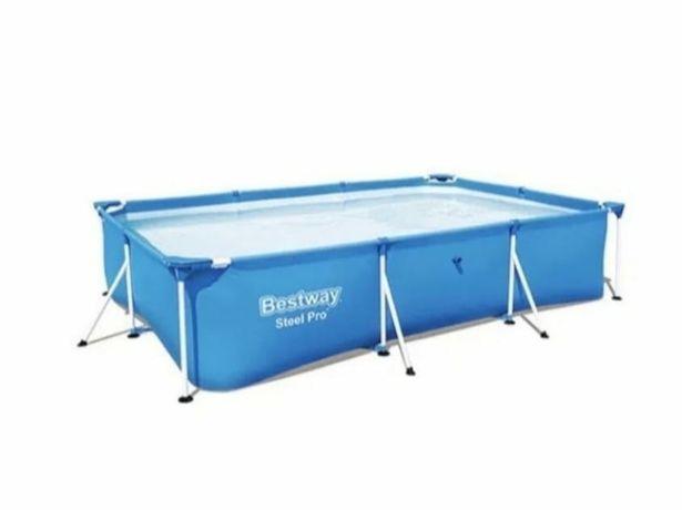 Каркасный бассейн 300х201х66 см