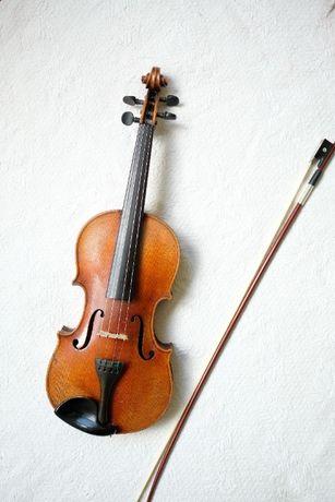 Немска майсторска цигулка Gustav Herrnsdorf 4/4. Напълно реставрирана