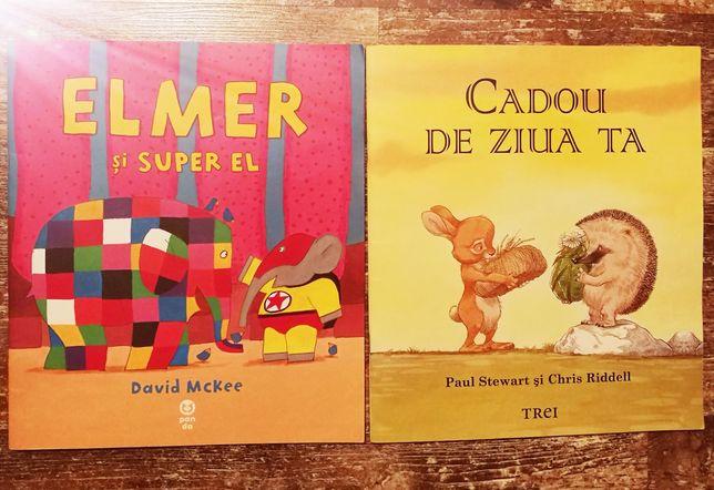 Carti copii, Elmer si Cadou de ziua ta