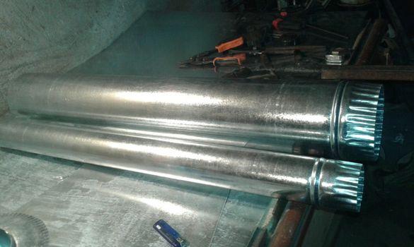 Тръби кюнци димоодводни ф80 ф150 ф300 ф500 ф800 аспирация вентилация