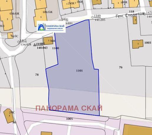 Продава парцел в Плевен-Мара Денчева площ 4595 м2
