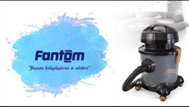 Продам пылесос новый с водным фильтром FANTOM ECO WF4700