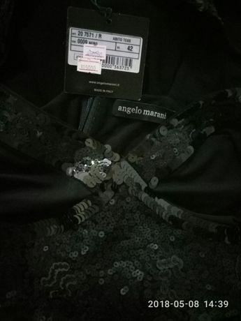Продам шикарное черное итальянское платье
