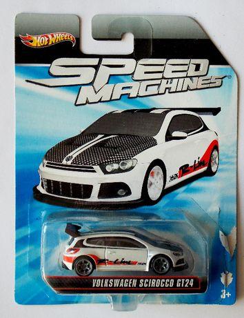 Количка Volkswagen Scirocco - Hot Wheels SPEED MACHINES. НОВА!