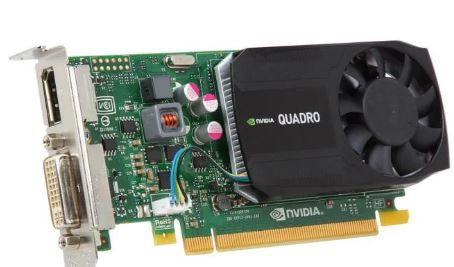 PNY Quadro K620 KEPLER 384 CUDA Cores Low Profile, ATX bracket mounted