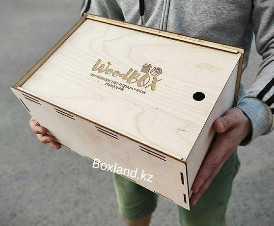 Деревянные подарочные коробки ящики