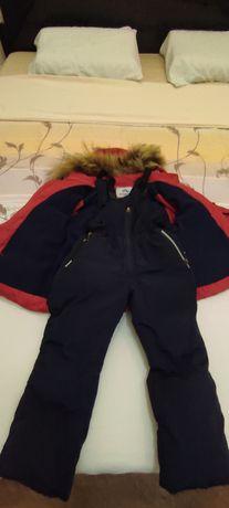 Куртка комбинезон зимний на 2-3 года