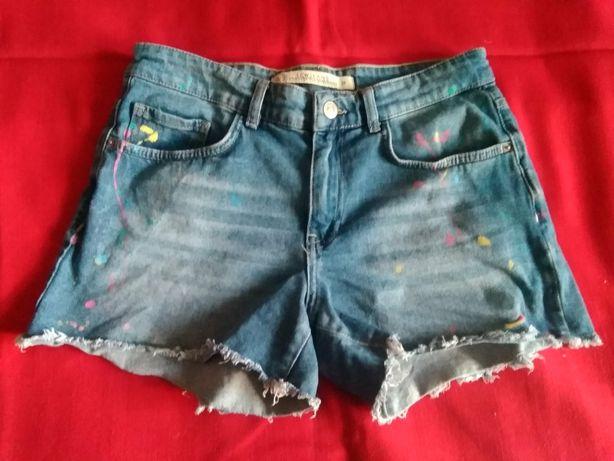 Шорты джинсовые размер 28