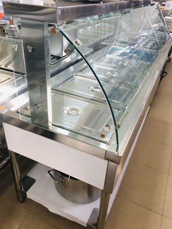 Топла витрина на водна баня Бен Мари