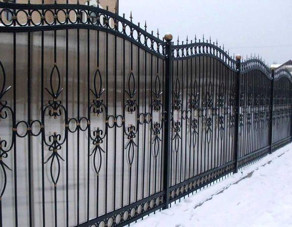 Заборы и декоративные ограждения из Поликарбоната(полигаля)
