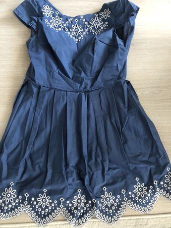 Продам летнее итальянское платье с вышивкой